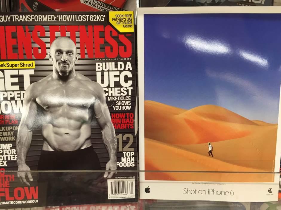 Men's Fitness Australia Photo taken by: Peter David