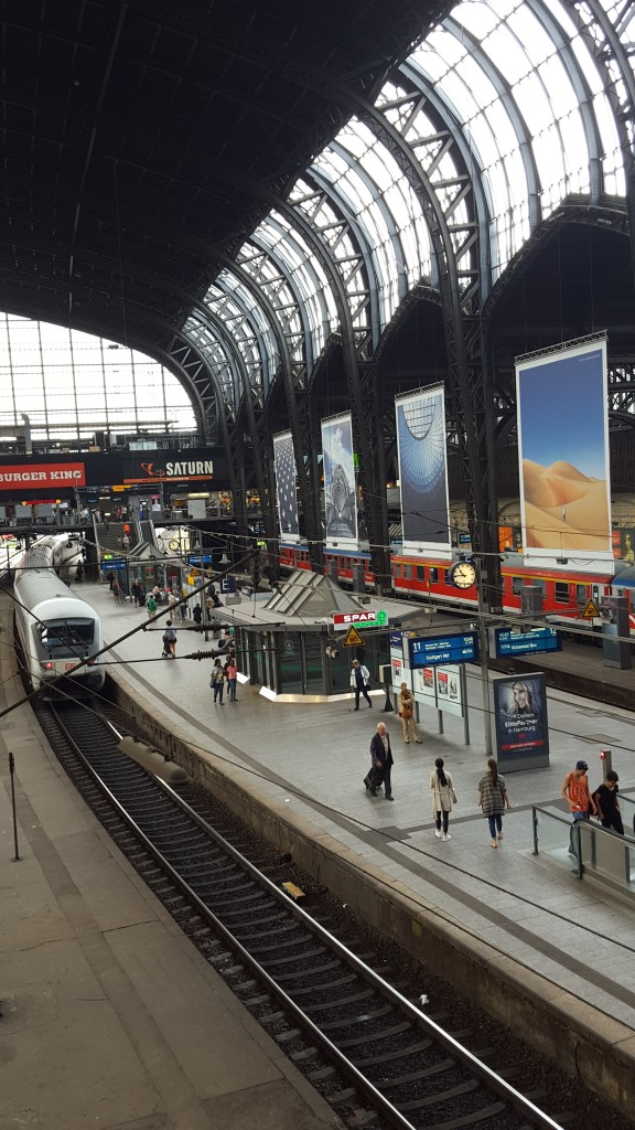 Hamburg Central Station, Germany Photo credit: Huda Bin Redha