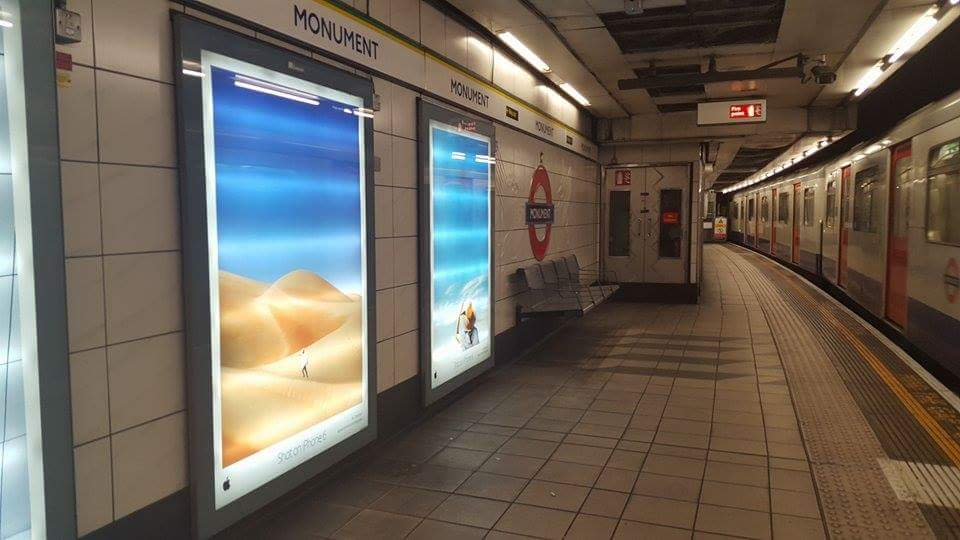 Monument Station, London UK Photo credit: Hyku Desesto