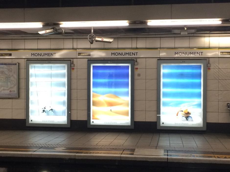 Monument Station, London UK Photo credit: Robbie