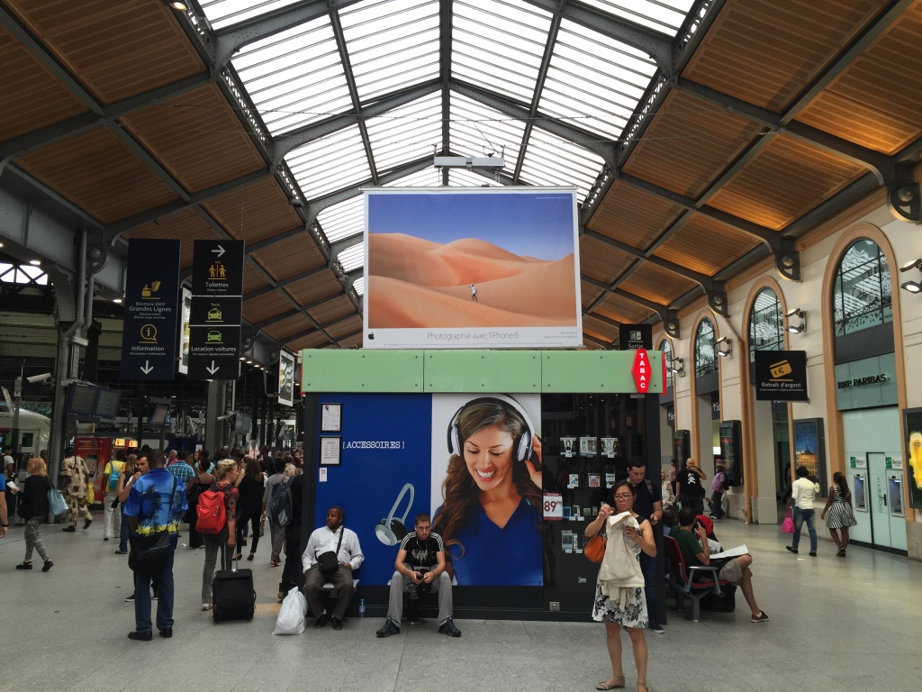 St. Lazare Station, Paris France Photo credit: Karen McLean