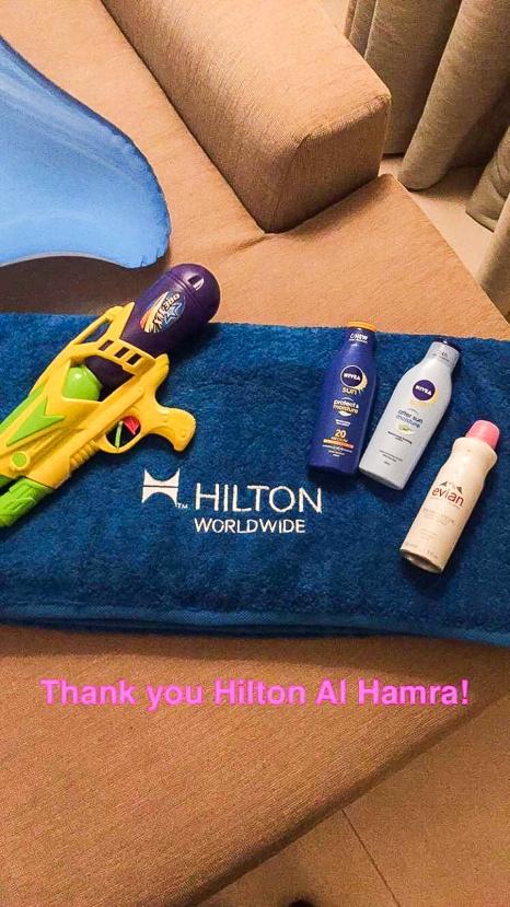 treats from Hilton Al Hamra