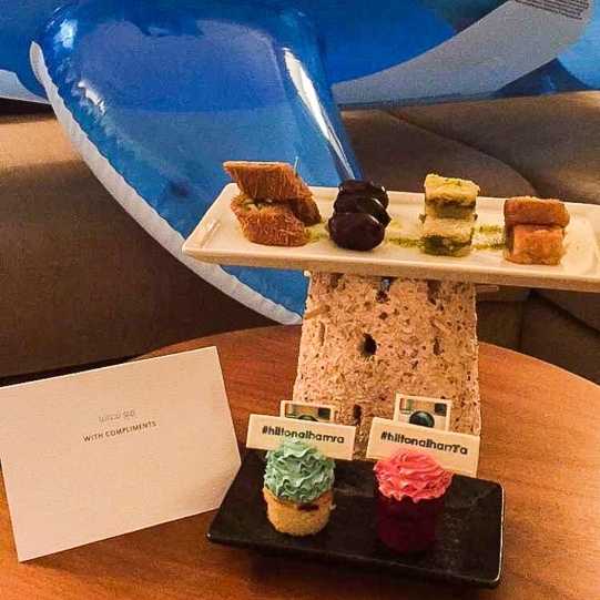 treats from Hilton Al Hamra