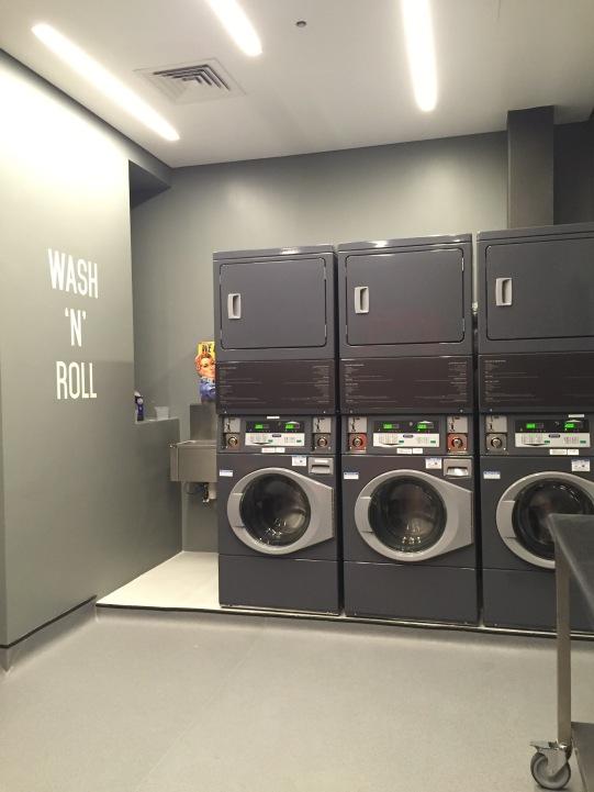 Self service laundromat
