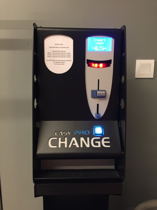 You can change your coins here!